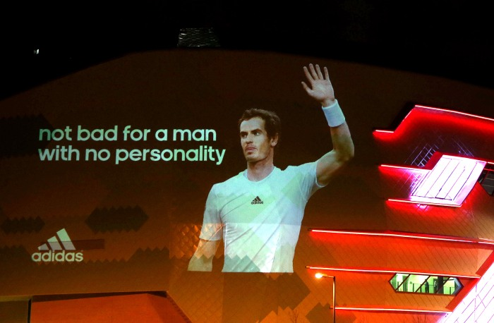 adidas Congratulate Andy Murray - SPOTY