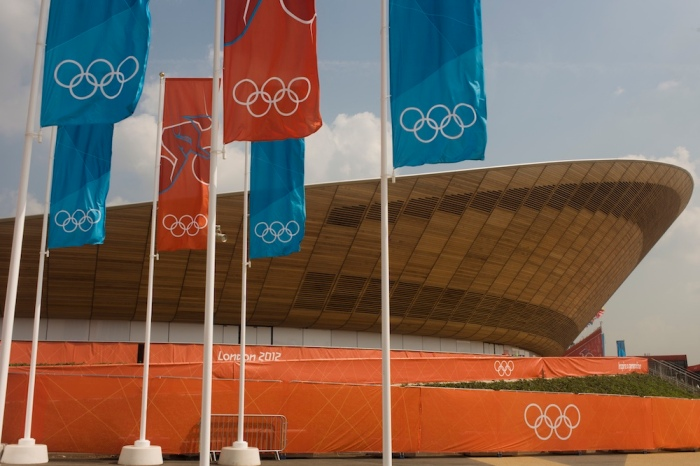 UK - London 2012 Olympics - Olympic Velodrome landscape