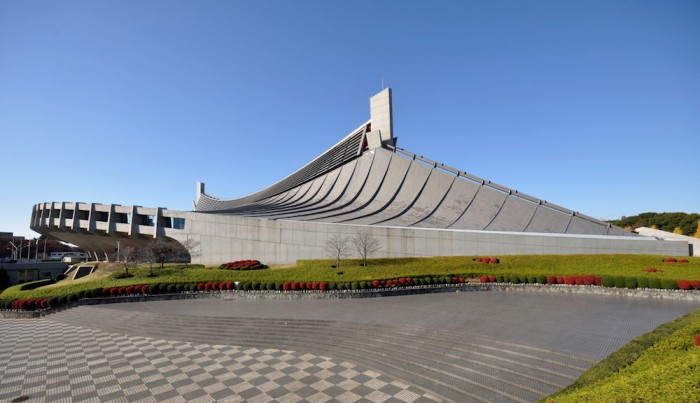 Yoyogi National Gymnasium-Toyko-1964